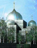 Проект (№ 073) храма Живоначальной Троицы на Набережной Бранли в Париже